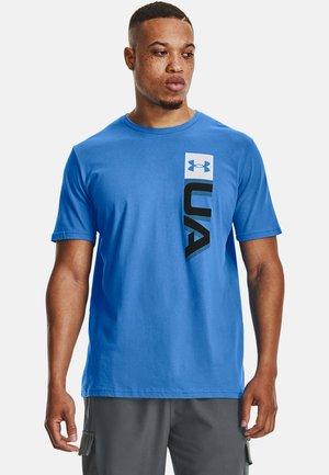 BOXED WORDMARK  - Print T-shirt - brilliant blue