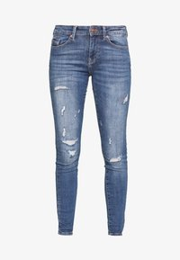ONLY - ONLCARMEN LIFE  - Jeans Skinny Fit - medium blue denim - 3