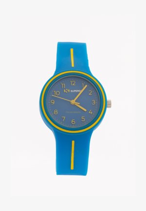 JUNIOR - Horloge - blu/giallo