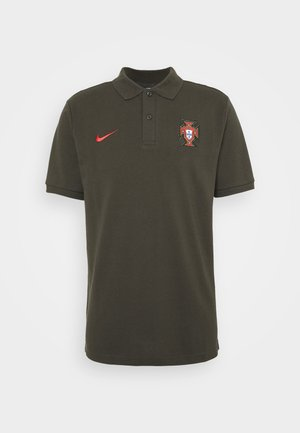 PORTUGAL FPF - Piké - sequoia/sport red