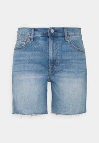 Gap Tall - 5 INCH MR COOPER - Denim shorts - medium indigo - 0