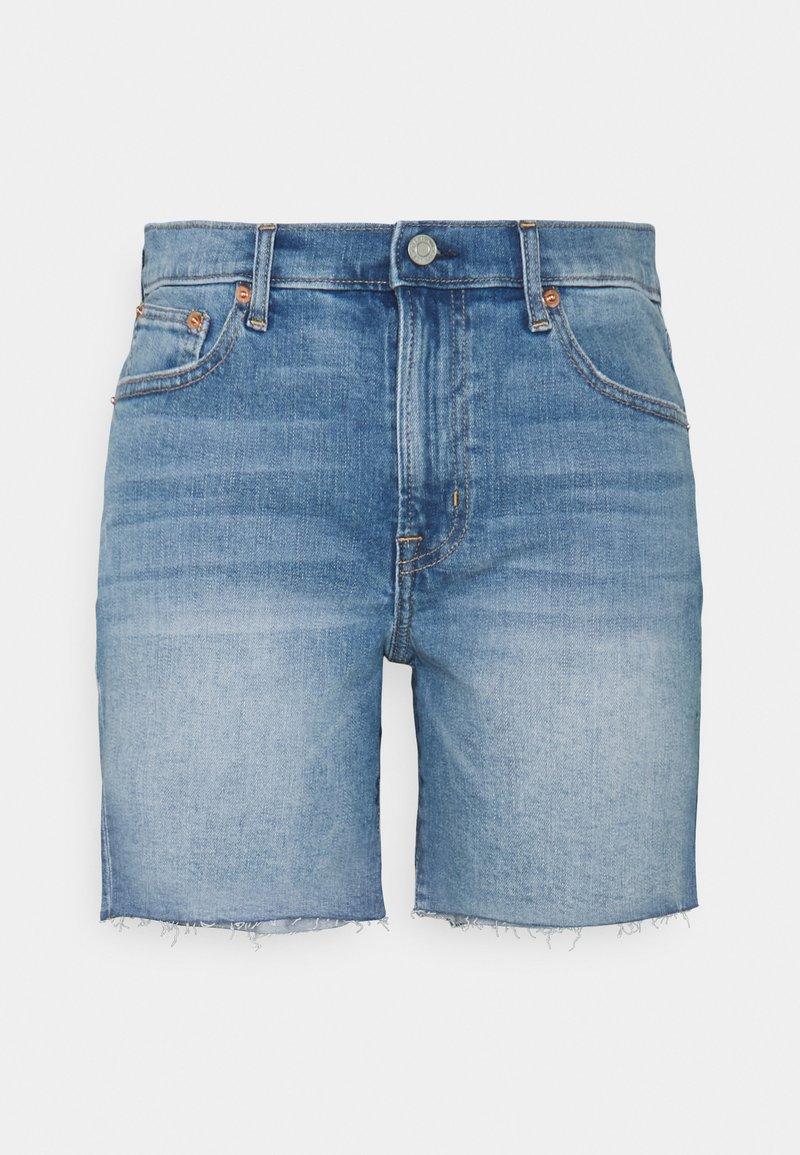 Gap Tall - 5 INCH MR COOPER - Denim shorts - medium indigo