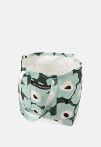 Marimekko - PERUSKASSI PIENI - Shoppingveske - dark green/green/off white - 2
