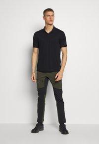 Haglöfs - RUGGED FLEX PANT  - Outdoor trousers - deep woods/true black - 1
