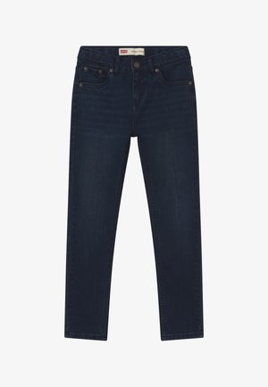 SKINNY TAPER - Skinny-Farkut - dark-blue denim