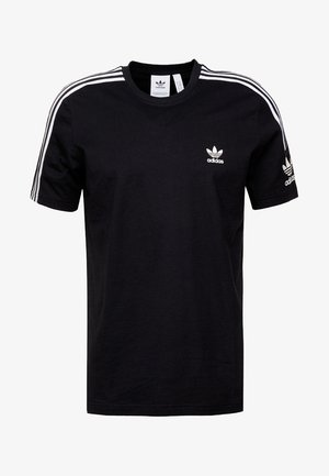 TECH TEE - T-shirt med print - black
