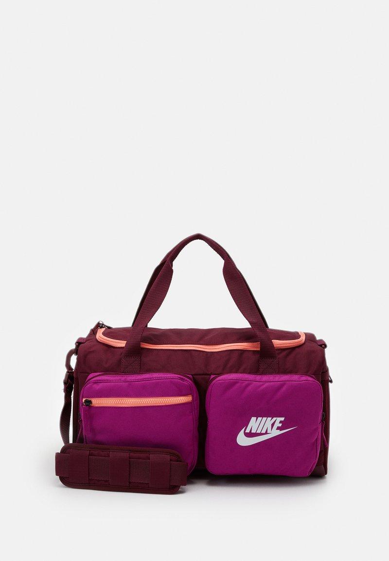 Nike Sportswear - FUTURE PRO DUFF - Sports bag - dark beetroot/cactus flower/white