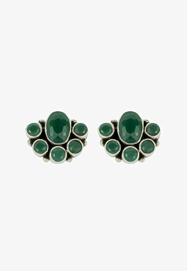 BLOSSOM  - Boucles d'oreilles - green