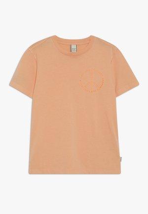 WITH ARTWORKS - T-shirt z nadrukiem - sorbet