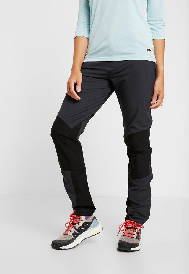 TRINITY PANTS - Trousers - charcoal