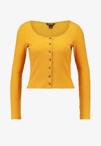 Monki - QUEEN - Gilet - yellow dark - 4