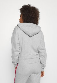Tommy Hilfiger - HOODY PIPING - Zip-up hoodie - grey heather - 2