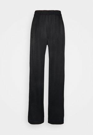 FANNY - Trousers - black