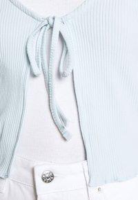 Cotton On - VIVVY TIE FRONT - Kofta - daisy blue - 4
