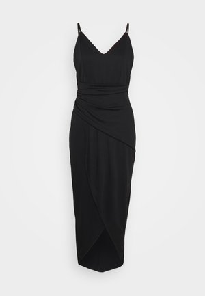 ZOEY STRAP DRESS - Robe longue - black
