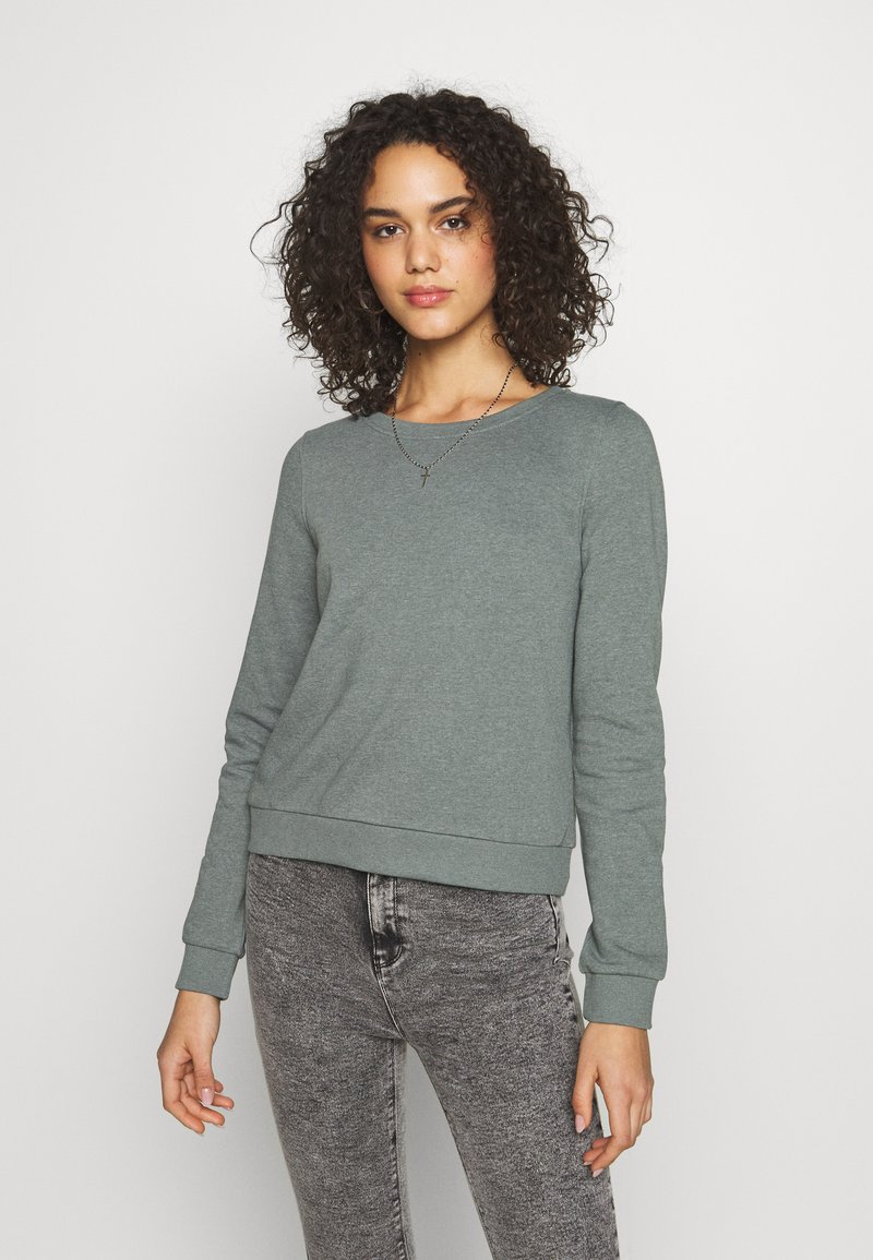 ONLY - ONLWENDY ONECK - Sweatshirt - balsam green
