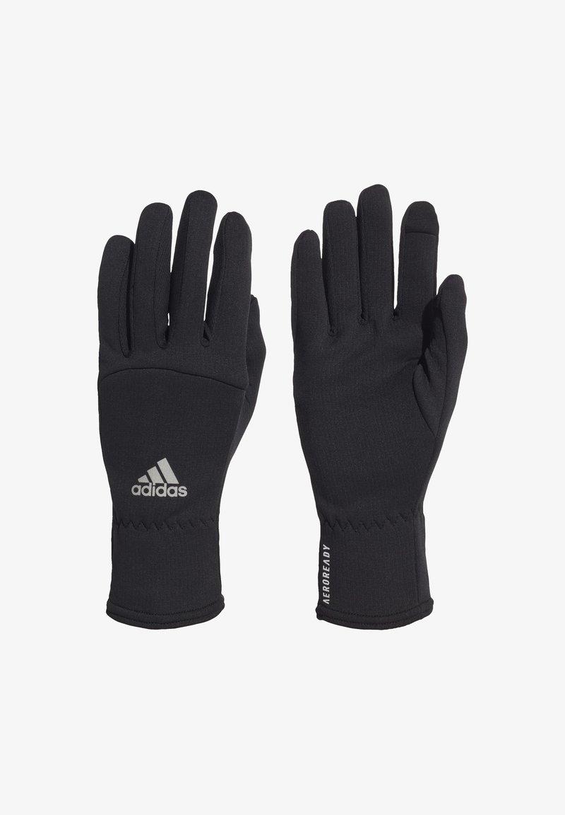 adidas Performance - AEROREADY GLOVES - Fingervantar - black