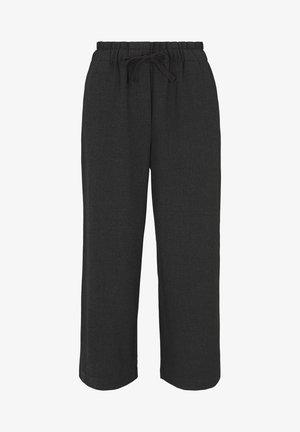 Trousers - shale grey melange