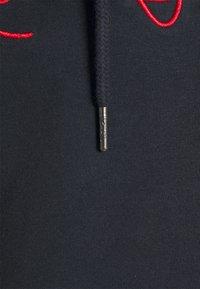 Karl Kani - ORIGINALS BLOCK HOODIE UNISEX - Mikina - navy/green/yellow - 2