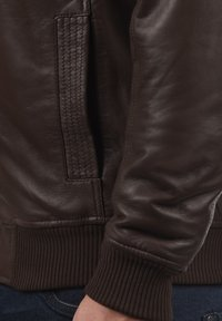 Solid - FAMASH - Veste en cuir - brown - 3