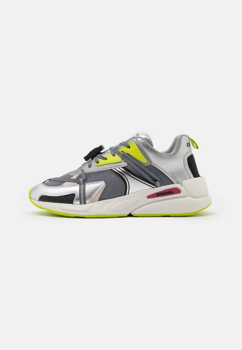 Diesel - S-SERENDIPITY LC EVO - Sneakers basse - grey/silver/lemon