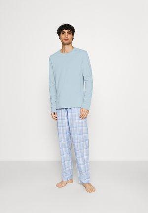 Pijama - light blue/white