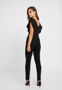 WAL G PETITE - RUFFLE - Jumpsuit - black - 2