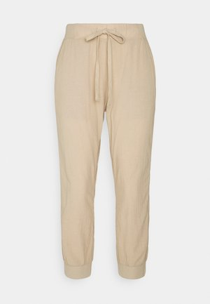 Tracksuit bottoms - classic sand