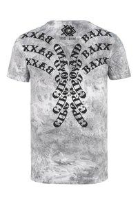 Cipo & Baxx - Print T-shirt - anthracite - 7