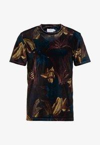 Topman - LEAF TEE - T-shirt med print - multi - 4