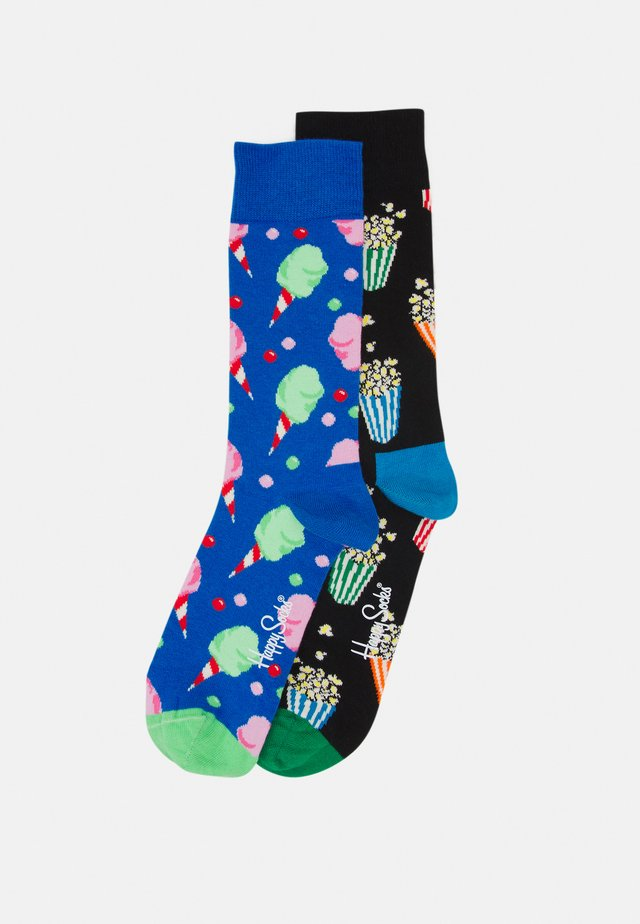 2 PACK SNACKS SOCKS GIFT SET UNISEX - Calze - multi