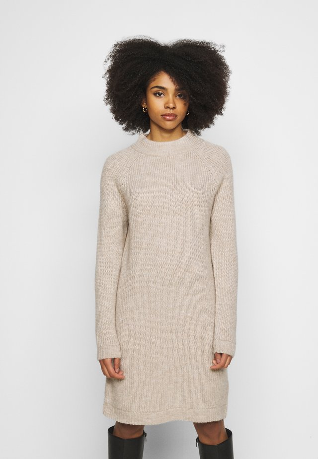 ONLJADE DRESS - Jumper dress - whitecap gray