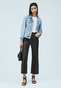 Pepe Jeans - Leather trousers - denim - 1
