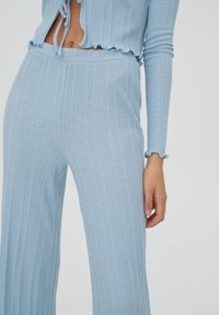 PULL&BEAR - Trousers - stone blue denim - 3