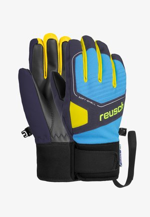 Gloves - dresd blue/navy/sulfur sp