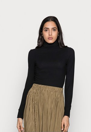 FONDA ROLLNECK - Long sleeved top - black