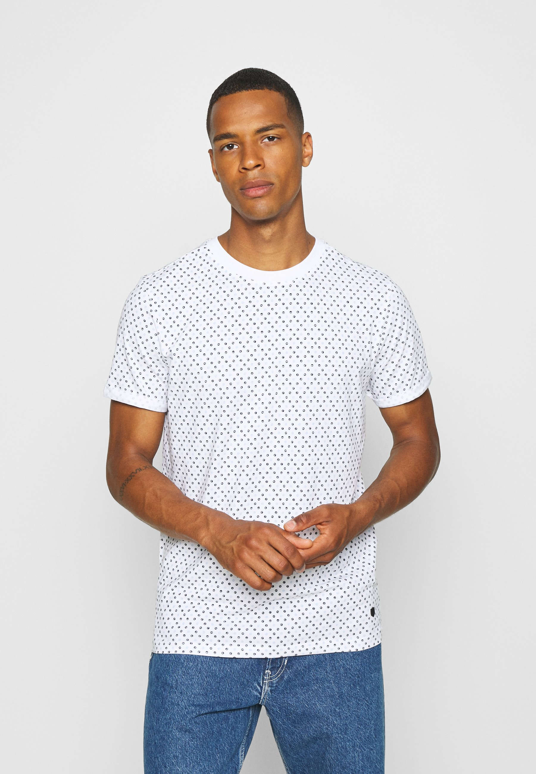 Men JPRBLALOGO STRETCH - Print T-shirt