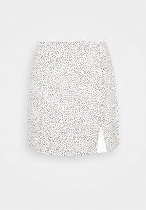 ALINE - A-line skirt - white