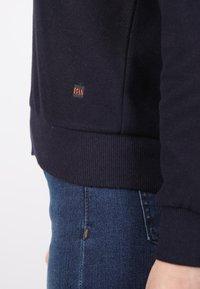 Basics and More - Zip-up sweatshirt - dark blue - 2