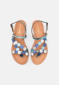 Les Tropéziennes par M Belarbi - HOLO - T-bar sandals - ciel/multicolor - 4