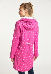 Schmuddelwedda - Waterproof jacket - pink aop - 2