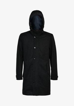CLEAN - Classic coat - dk black