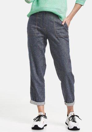 Trousers - azur melange