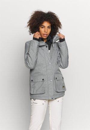 IDA JACKET - Snowboardová bunda - grey