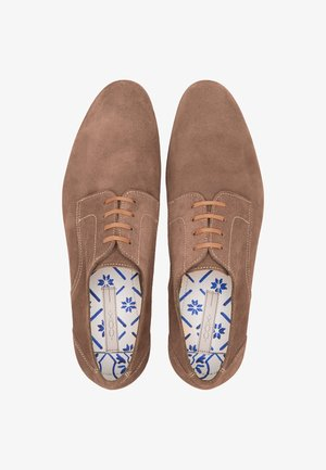 DERBY - Lace-ups - taupe