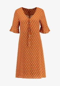 mint&berry - Day dress - white/brown - 3