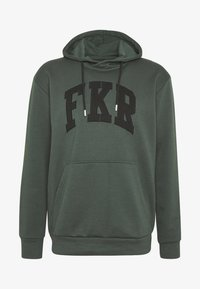 FAKTOR - RIVER HOOD - Felpa con cappuccio - khaki - 4