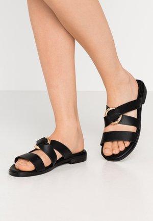 CAIRO - Pantofle - black