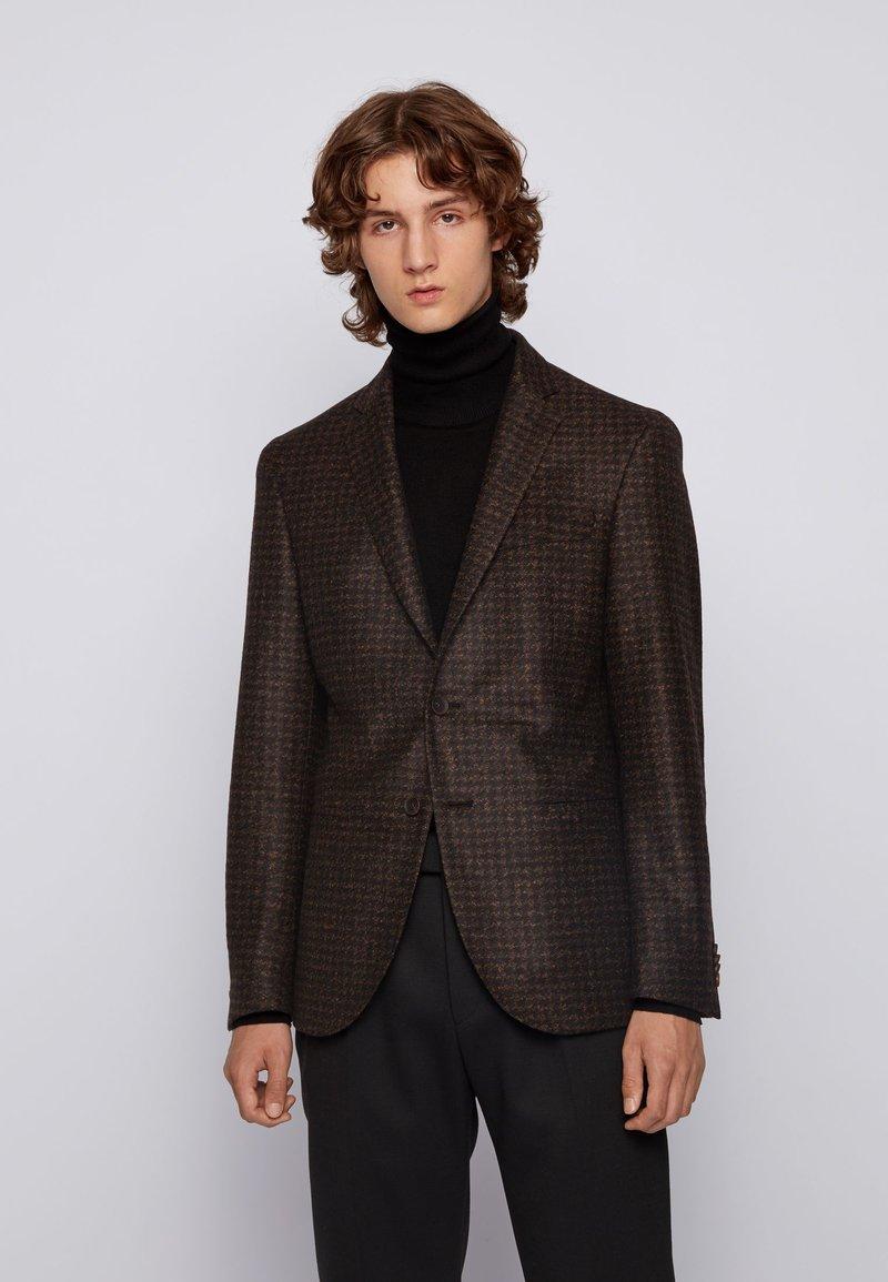 BOSS - Suit jacket - dark brown