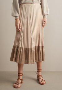 Falconeri - A-line skirt - naturale - 0